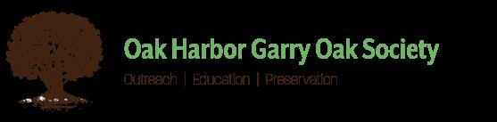 Oak Harbor Garry Oak Society Logo
